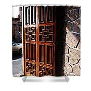 Mexican Door 42 Shower Curtain