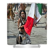 Mexican Heritage Shower Curtain
