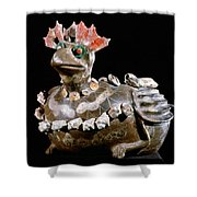 Mexico: Teotihuacan Shower Curtain