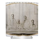 Meyer Guggenheim And Sons Shower Curtain