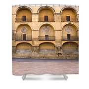 Mezquita And Plaza Del Triunfo Shower Curtain