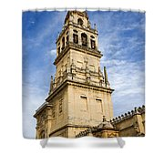 Mezquita Bell Tower Shower Curtain