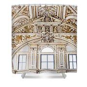 Mezquita Cathedral Renaissance Ornamentation Shower Curtain
