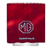 Mg 1600 Mk II Emblem Shower Curtain