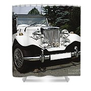 Mg Classic Car Shower Curtain