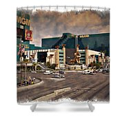 Mgm Grand - Impressions Shower Curtain