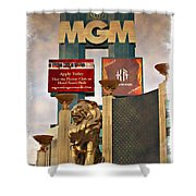 Mgm Marquee - Impressions Shower Curtain