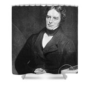 Michael Faraday, English Chemist Shower Curtain