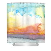 Midday 26 Shower Curtain