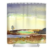 Midday 27 Shower Curtain