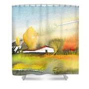 Midday 28 Shower Curtain