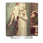 Midday Slumbers  Shower Curtain