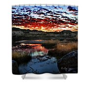 Middle Earth Hdr2 Shower Curtain
