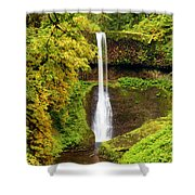 Middle North Falls Shower Curtain