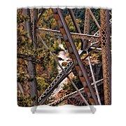 Midgley Bridge Oak Creek Canyon Shower Curtain