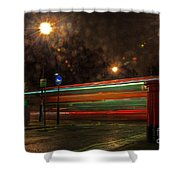 Midnight In Mayfair Shower Curtain