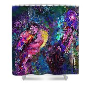 Midnight Kiss  Shower Curtain