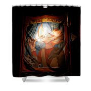 Midway Frights Shower Curtain