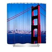 Mighty Golden Gate Shower Curtain