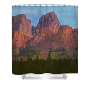 Mighty Mountains Shower Curtain
