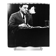 Mike Wallace (1918-2012) Shower Curtain