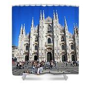 Milan Duomo Cathedral Shower Curtain