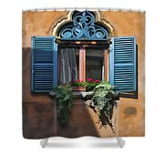 Milano Apartment Window Shower Curtain