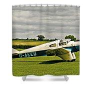 Miles M.3 Falcon Circa 1934 Shower Curtain
