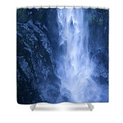 Milford Sound New Zealand Shower Curtain
