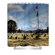 Military Honors Shower Curtain