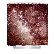 Milky Way In Sagittarius Shower Curtain