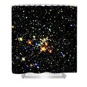 Milky Way Star Cluster Shower Curtain