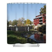 Mill Apartments Shower Curtain