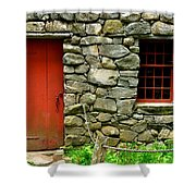 Mill Door And Window Shower Curtain