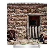 Mill Door Shower Curtain