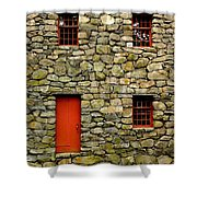 Mill House Over Stream Shower Curtain