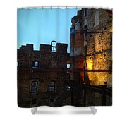 Mill Ruins Shower Curtain