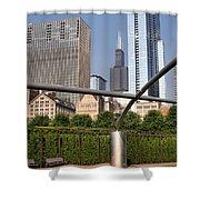 Millenium Park - 1 Shower Curtain