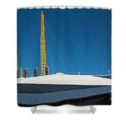Millennium Dome London Shower Curtain