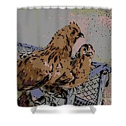 Millie Fleur D'uccle Shower Curtain