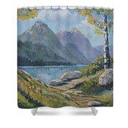 Mills Lake Shower Curtain
