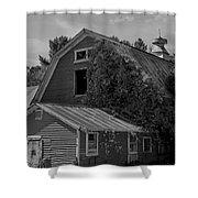 Milton Barn Shower Curtain