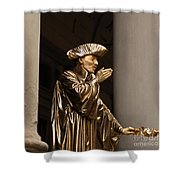 Mime Florence Italy Shower Curtain