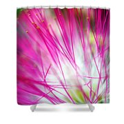 Mimosa Abstract Shower Curtain