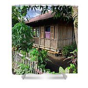 Minahasa Traditional Home 1 Shower Curtain