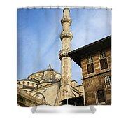 Minaret Of The Blue Mosque Shower Curtain