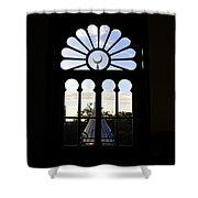 Minaret Through Window Shower Curtain