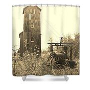 Mine Frame Revisited Shower Curtain