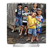 Minehasa Expressions  Shower Curtain