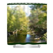 Mini Stream Shower Curtain